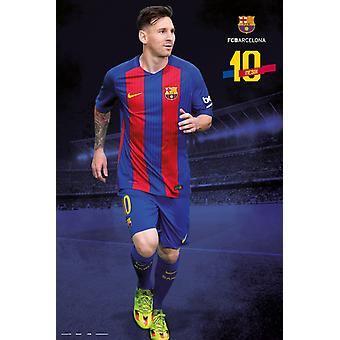 FC Barcelona 20162017 Messi posa Poster Poster Print