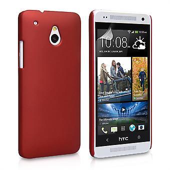 Yousave akcesoria HTC One Mini Hard Hybrid Case - czerwony