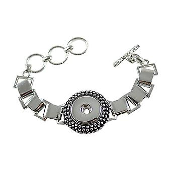 Stainless Steel Bracelet For Click Buttons Kb0187