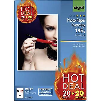Photo paper Sigel Photo Paper Everyday HOT DEAL T1155 DIN A4