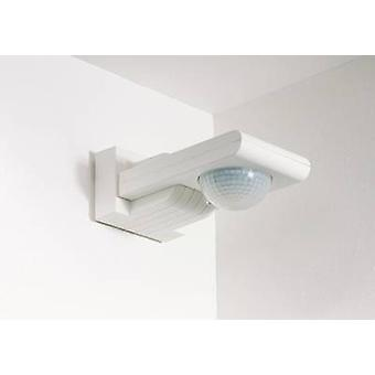 Surface-mount, Ceiling, Wall PIR motion detector Siemens 5TC7210 120 ° Relay White IP55