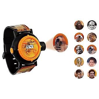 Disney Star Wars BB8 digitale Projector pols horloge SWM3116