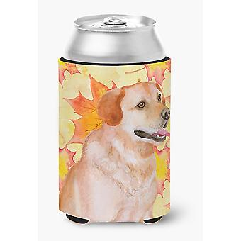 Carolines Treasures  BB9975CC Labrador Retriever Fall Can or Bottle Hugger
