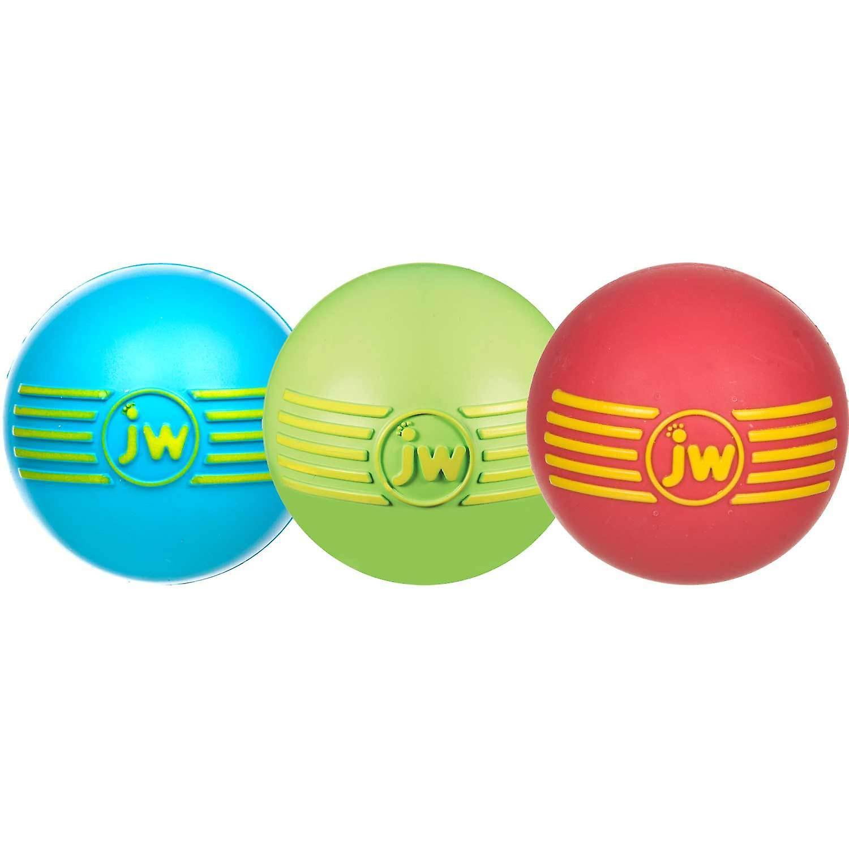 JW Pet iSqueak Rubber Ball Dog Toy, Large Size