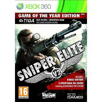 Sniper Elite V2 spel van het jaar 2013 (Xbox 360)
