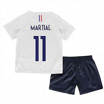 2018-2019 Франции от Nike маленьких мальчиков мини Кит (боевые 11)