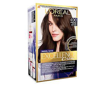 L'Oreal utgör Excellence brunett Tinte #400-true Brown för kvinnor