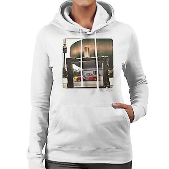 BMW Art Car Alexander Calder Women's Hooded Sweatshirt