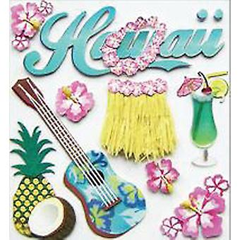 Jolee's Boutique Dimensional Stickers-Hawaii