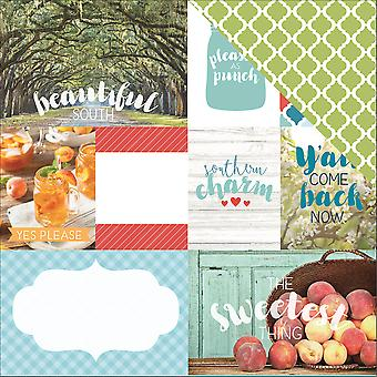 Discover Usa Double-Sided Cardstock 12