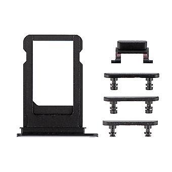 Nero lato pulsanti impostati con il vassoio della SIM per iPhone 7