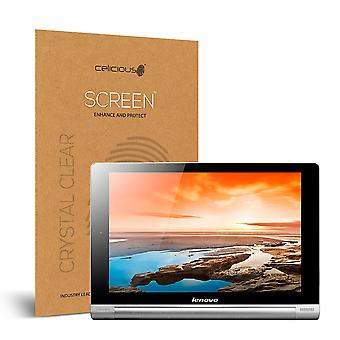Celicious Vivid Invisible Glossy HD Screen Protector Film Compatible with Lenovo Yoga Tablet 8 [Pack of 2]