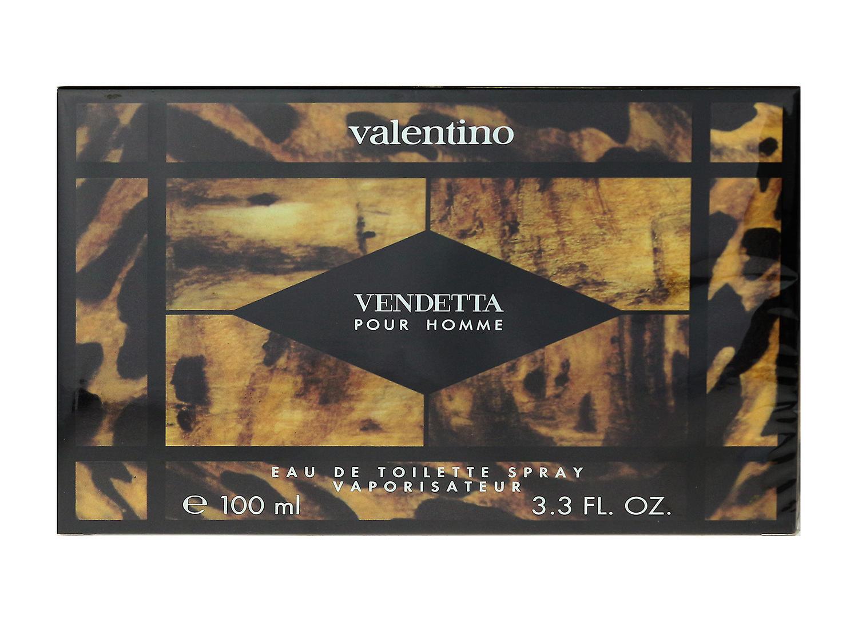De Valentino New Eau 100ml Pour Spray 3 Box Homme 4oz Vendetta In Toilette ONX0P8nwk