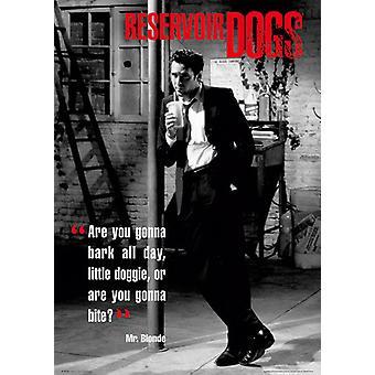 Reservoir Dogs Mr Blonde Poster Poster Print