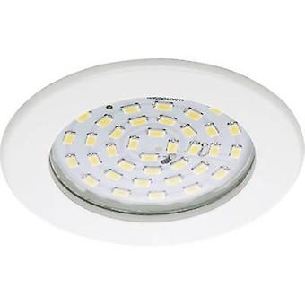 LED bathroom recessed light 10.5 W Warm white EEC: LED (A++ - E) Briloner 7206-016 White