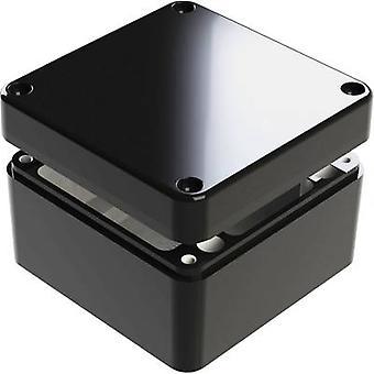 Deltron Gehäuse 487-121209B-66 Universal Gehäuse 125 x 125 x 90 Aluminium Blau 1 PC
