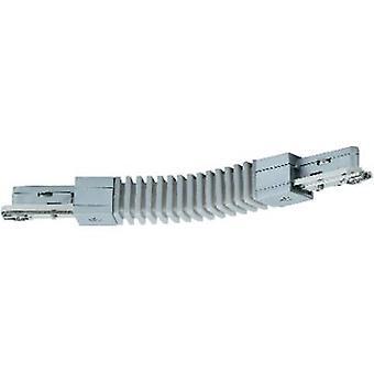 High voltage mounting rail Flex connector Paulmann 96851 Chrome (matt)