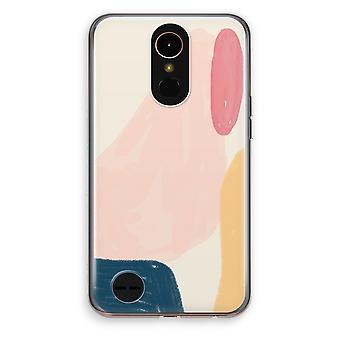 LG K10 (2017) Transparent Case (Soft) - Saturday Flow