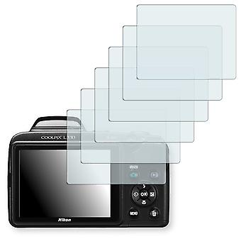 Nikon COOLPIX L330 display protector - Golebo crystal clear protection film