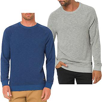 Hombres animales Trent Crewneck manga larga Sweater Jumper sudadera Top