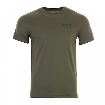 EA7 Mens Small Logo T-Shirt (Forest)