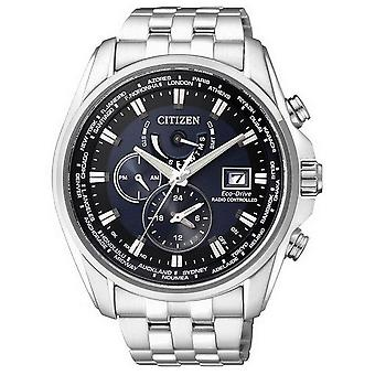 Citizen mens watch eco-drive radio watch AT9030-55 L
