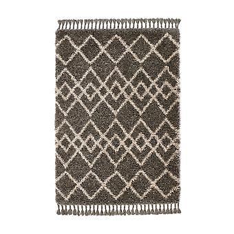 Marocko Orgins Taupe rektangel mattor Plain/nästan slätt mattor