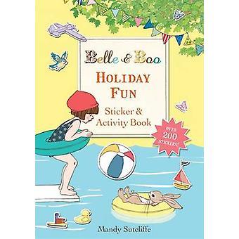 Holiday zabawne naklejki idealna Książka aktywność przez Mandy Sutcliffe - 978140833128