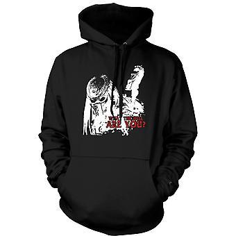 Mens Hoodie - Predator What The Hell - Alien