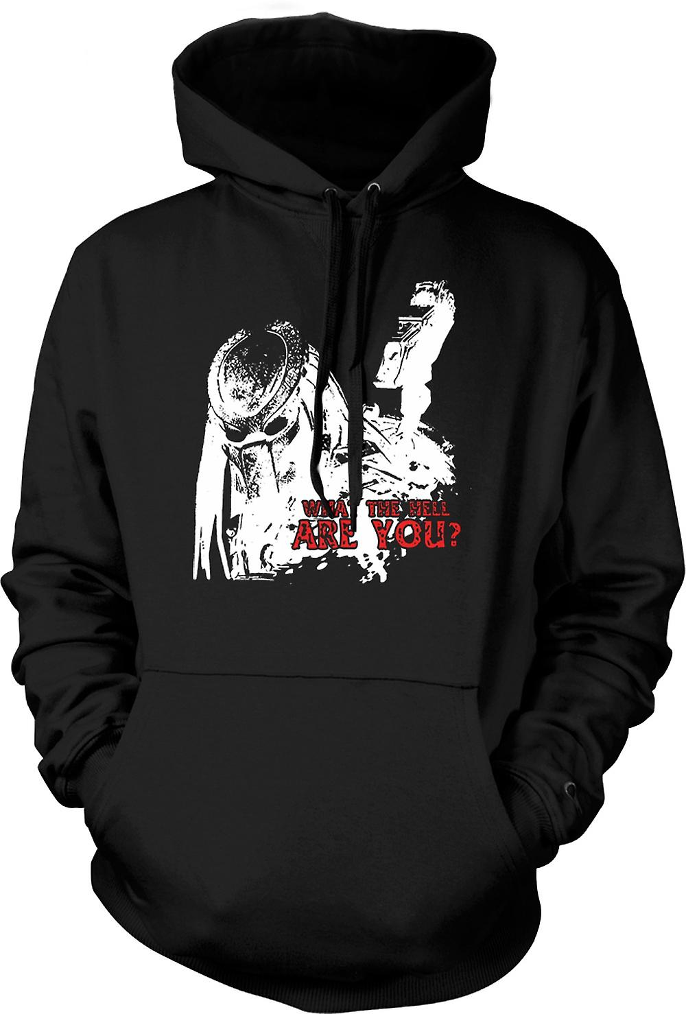 Kids Hoodie - Predator What The Hell - Alien