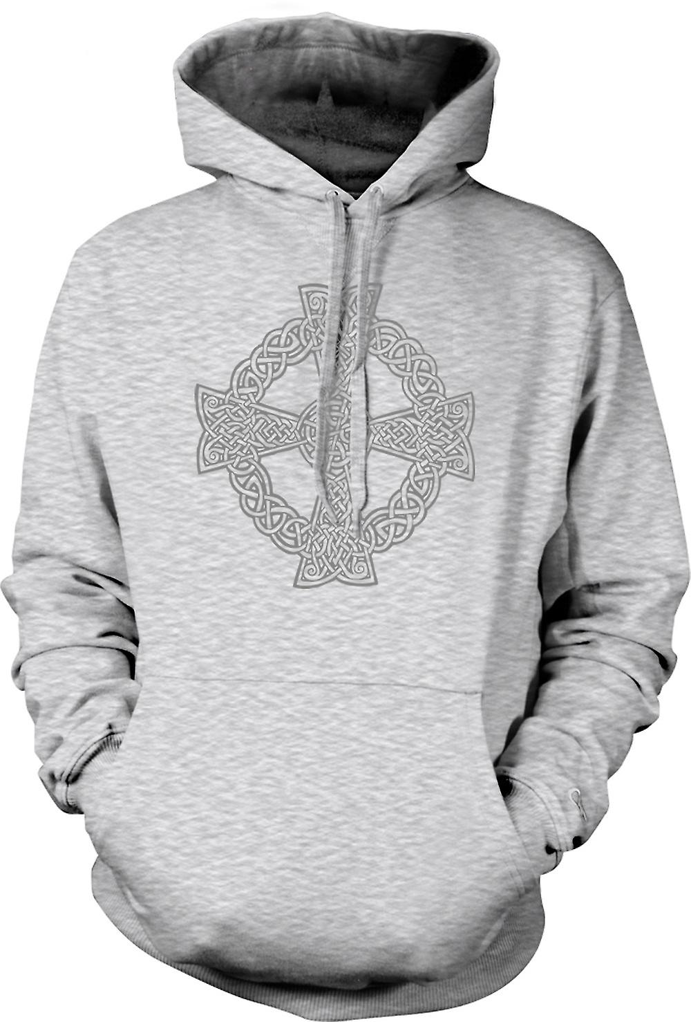 Mens Hoodie - Croix celtique 1 - Design Tattoo