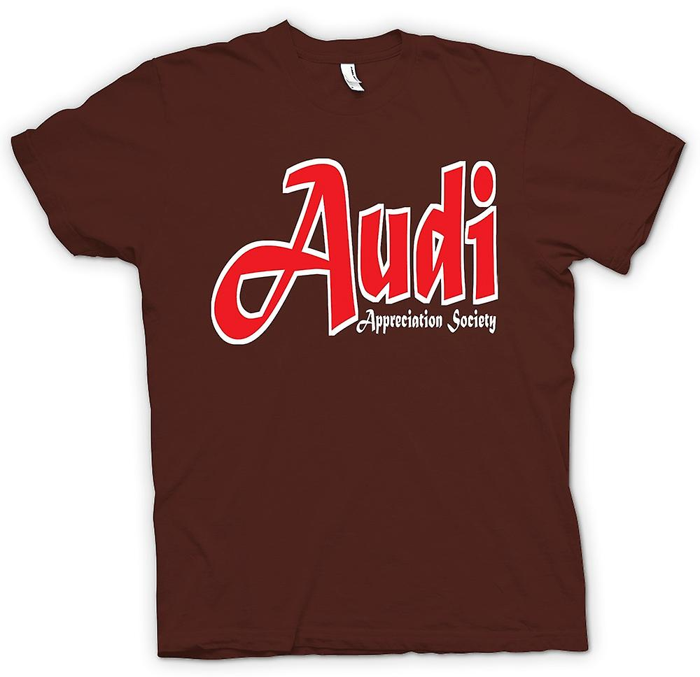Mens T-shirt - Audi Appreciation Society