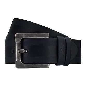 TOM TAILOR belt leather belts men's belts jeans belt blue 7756