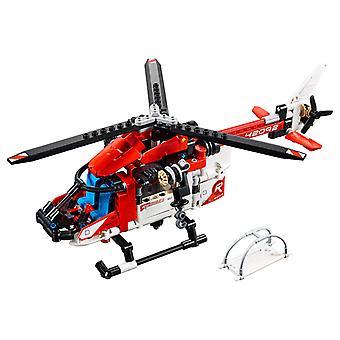 42092 2 in 1-Lego Technic Rettungshubschrauber