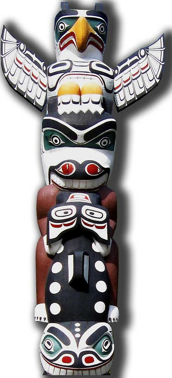 Totem Pole - Lifesize karton knipsel / Standee