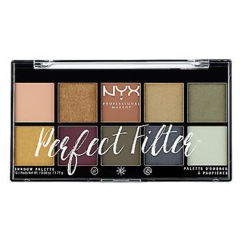 Prof. de NYX maquillaje perfecto filtro sombra oliva de paleta