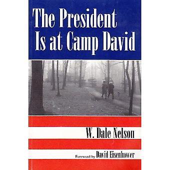 Der Präsident ist in Camp David