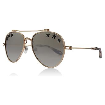 Givenchy GV7057 DDB Gold / Copper STARS Pilot Sunglasses Lens Category 3 Size 58mm