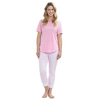 Top de pijama algodão Casual inteligente Roschi 1884155 feminino