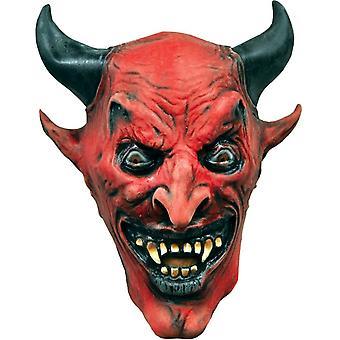 ハロウィーンのための赤い悪魔のマスク