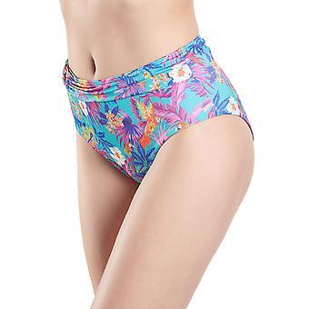 Aubade NR24 Women's Desir D'Evansion Floral Swimwear Beachwear Highwaisted Bikini Bottom