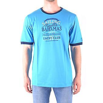 Paul & Shark Light Blue Cotton T-shirt