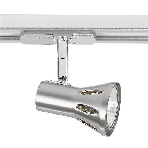 Endon EL-10101-SC Satin Chrome Gu10 Track Spotlight - Lamp Included