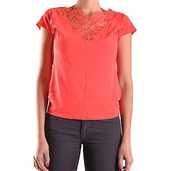 Just Cavalli Orange Viscose T-shirt