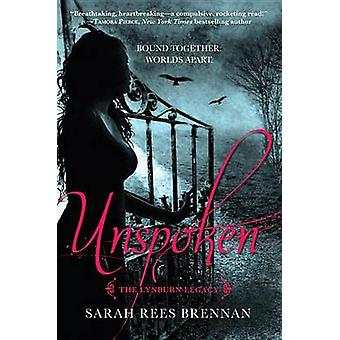 Unspoken by Sarah Rees Brennan - 9780375871030 Book