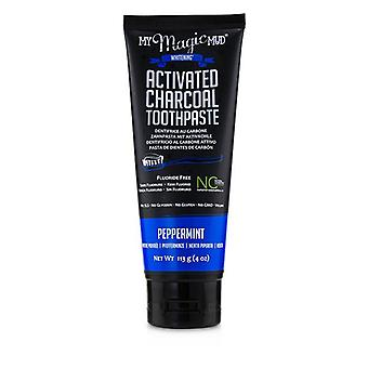 My Magic Mud Activated Charcoal Toothpaste (Fluoride-Free) - Peppermint 113g/4oz