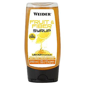 Weider Fiber and Fruit Syrup 250 ml (Sport , Food , Syrups & sauces)