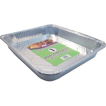 Large Disposable Foil Roasting Baking Tray Dish Pan Aluminium