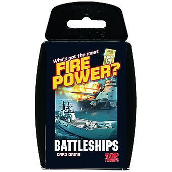 Top Trumps slagskibe Card spil