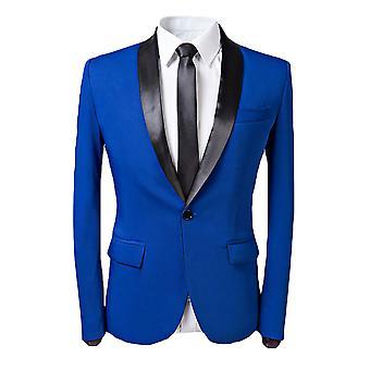 Allthemen Hommes Tuxedos Blazer Wedding Shawl Collar Casual Suit Veste